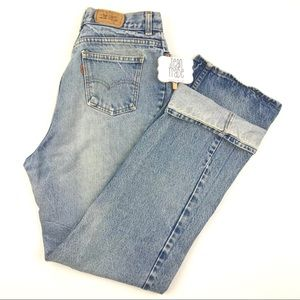 VTG Levi's Orange Tab Jeans Size 16